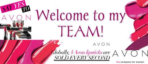 Welcome New Avon Representative