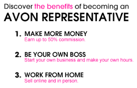 The Benefits Of Working For Avon!
